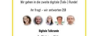 Digitale Talkrunde für Interessenten 2.0